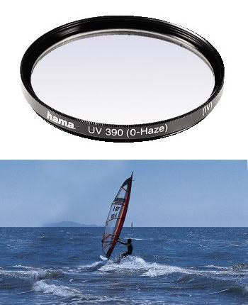 Hama filtr UV 0-HAZE M 67, černý