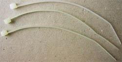 GEMBIRD 100ks vázací svorka na kabely PVC (v sáčku)