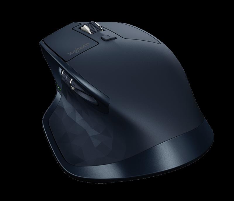 Logitech Počítačová myš bezdrátová MX Master, navy modrá