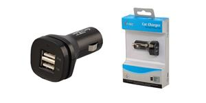 i-Tec USB High Power CAR Charger 2.1A (iPad ready) - autonabíječka pro USB zař.