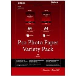 Canon fotopapír Pro Photo Paper Variety Pack A4 (LU+PT) 5+5
