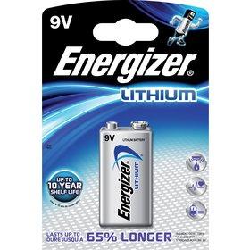 ENERGIZER Ultimate Lithium 9V Block 1-Blister