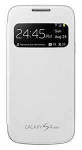 Samsung flipové pouzdro S-view S4 mini, bílá