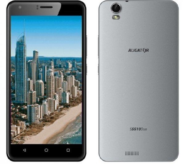 ALIGATOR S5510 Duo HD IPS šedý včetně pouzdra zdarma