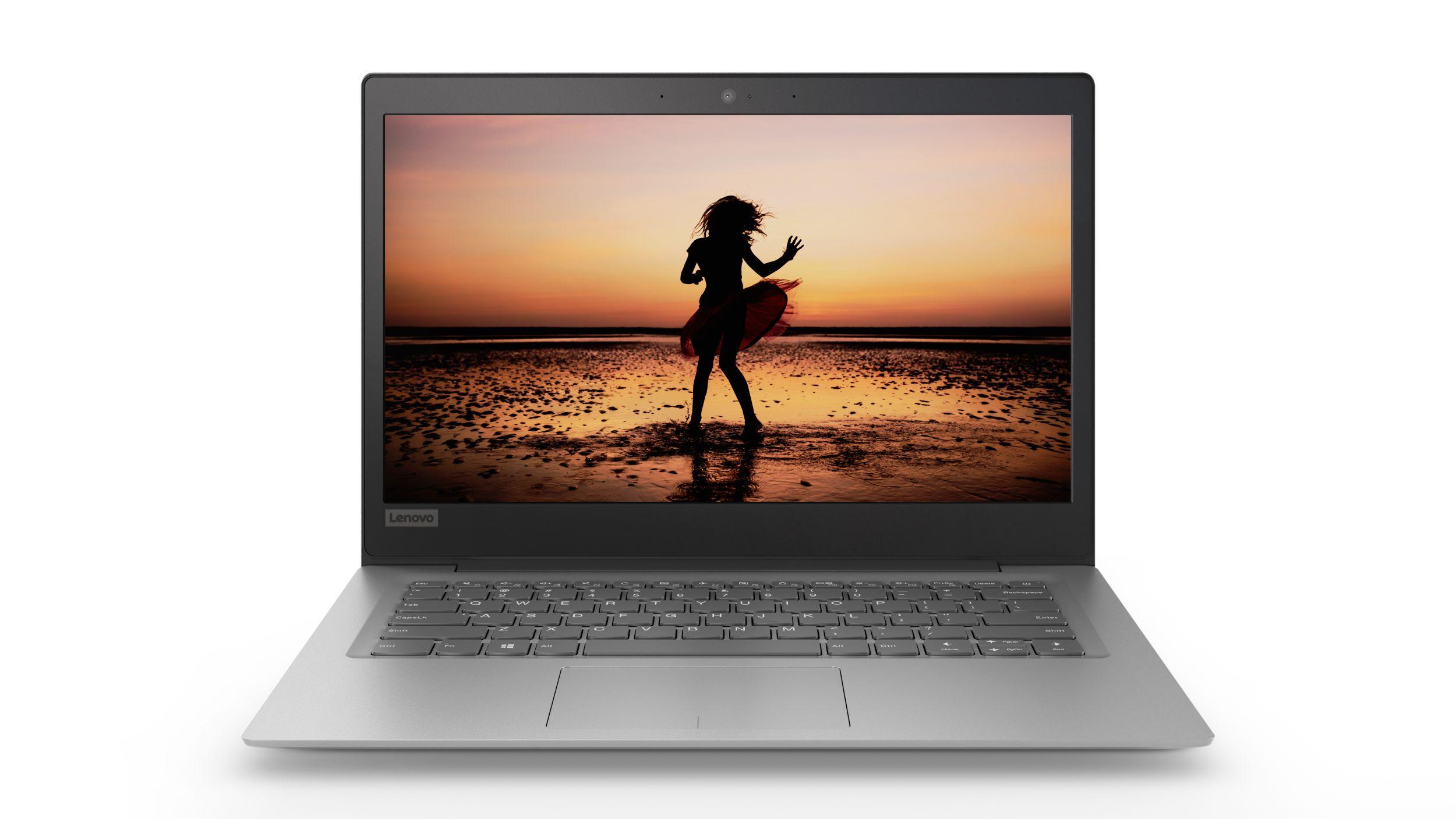 """Lenovo IdeaPad 120S-14IAP Celeron-QC N3450 2,20GHz/4GB/eMMC 64GB/14"""" HD/AG/WIN10 šedá 81A5003PCK"""