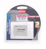 Hähnel HL-EL8 - Nikon EN-EL8, 730 mAh 3.7V