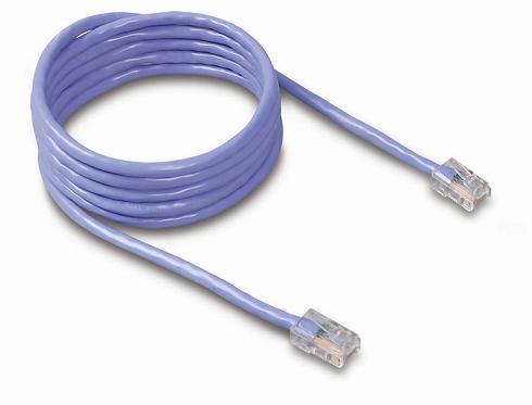 Belkin kabel PATCH UTP CAT5e 1m modrý, bulk montovaný