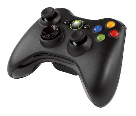 Microsoft Xbox 360 Gamepad bezdrátový pro Windows nebo Xbox 360, USB