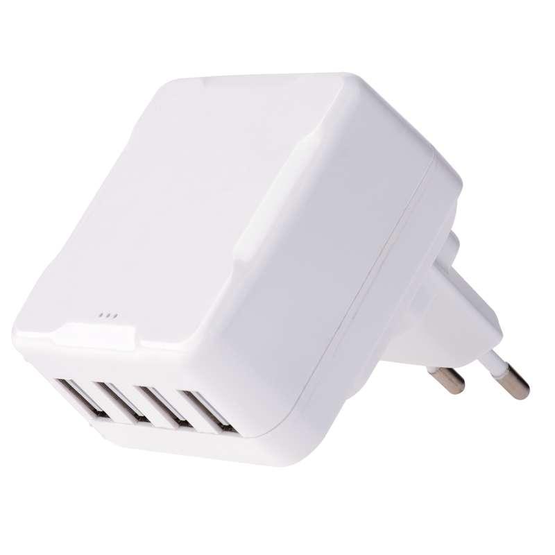 Emos napájecí zdroj 4x USB, 6.8A max., do sítě