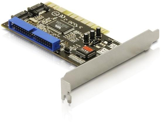 DeLock PCI řadič 2x SATA + 1x IDE, RAID