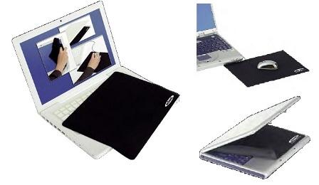 """Ednet - 3v1 ochranná podložka pro notebooky s klávesnicí z vysoce kvalitního microvlákna pro 10,2"""" ( 200x135)"""