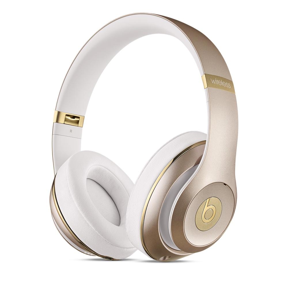 Studio Wireless Over-Ear Headphones - Gold
