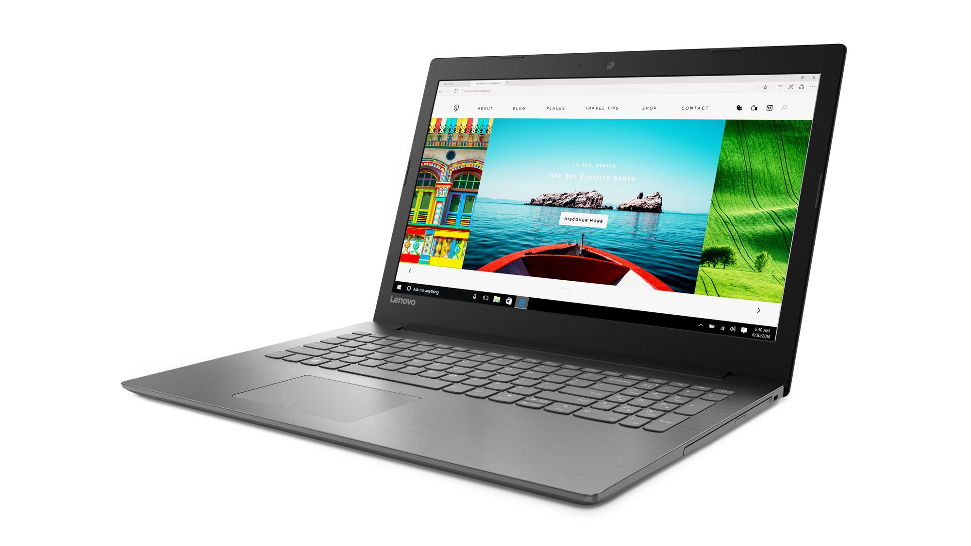 """Lenovo IdeaPad 320-15IKBRN i3-7100U 2,40GHz/8GB/SSD 128GB+HDD 1TB/15,6"""" FHD/AG/WIN10 černá 80XL0369CK"""