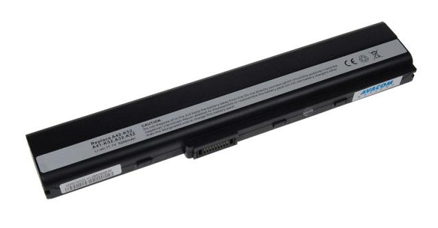 Náhradní baterie AVACOM Asus A42/A52/K52/X52 Li-ion 11,1V 5200mAh