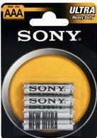 SONY R03NUB4A 1,5V, 4 ks, v blistru, R03/AAA (ULTRA), zinková baterie