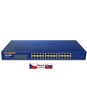 Tenda TEG1024G 24xGigabit Switch, fanless, rack