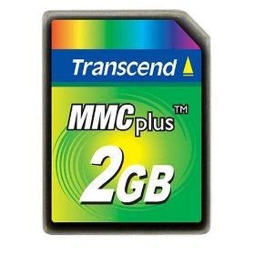 Transcend 2GB High Speed MMC multimedia memory card