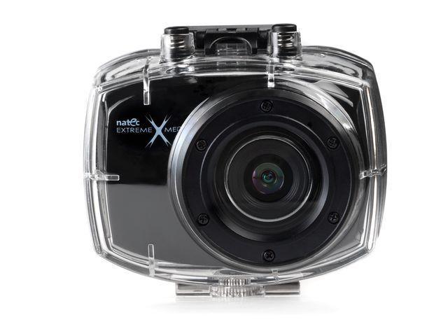Natec EXTREME MEDIA SPORT CAM HD50 sportovní kamera 1080p, voděodolná, dálk.ovl.
