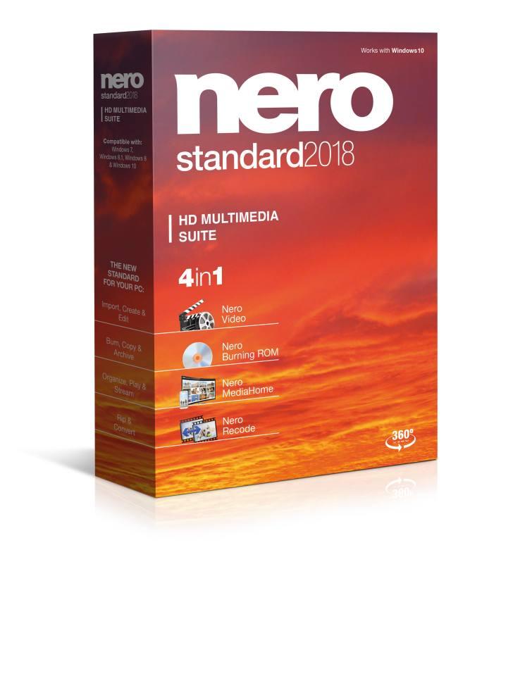 Nero Standard 2018 - CZ