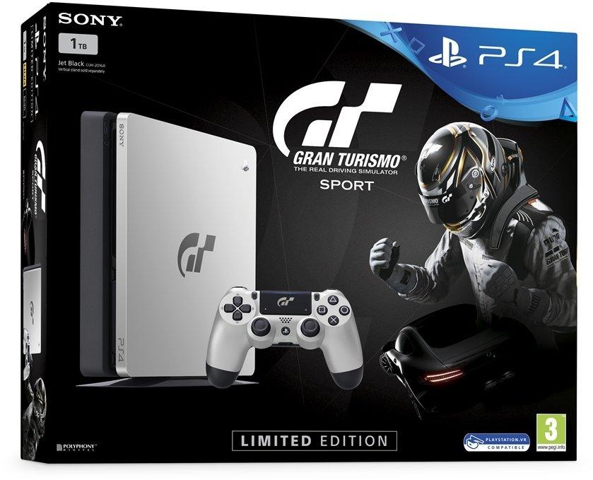 PS4 - Playstation 4 1TB + Gran Turismo Sport Speciální edice + PS Plus 14 dní