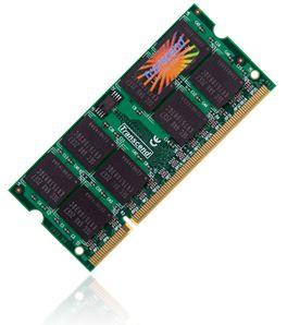 Transcend JetRam 1GB 667MHz DDR2 CL5 SODIMM (pro NTB)