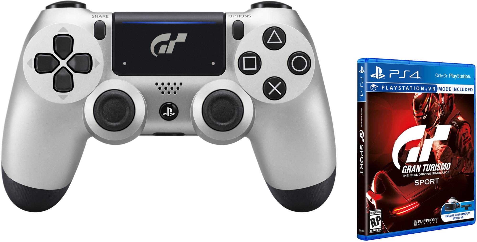 SONY PS4 Dualshock Controller V2 - GT Sport + hra Gran Turismo Sport