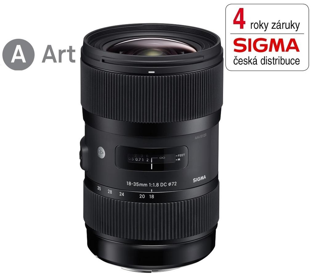SIGMA 18-35/1.8 DC HSM ART Nikon