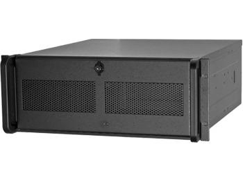 Chieftec PC skříň 19'' IPC UNC-410S-B, ATX, bez zdroje