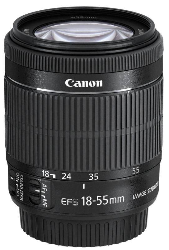 Objektiv Canon EF-S 3,5-5,6/18-55 IS STM