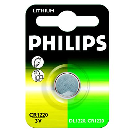 Philips baterie CR1220 - 1ks