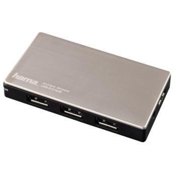 Hama USB 3.0 Hub 1:4 pro Ultrabooky, s napájením