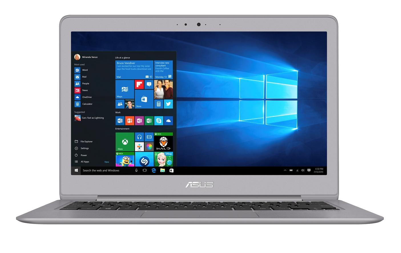 "ASUS UX330UA-FB114T i5-7500U/8G/256G SSD SATA3/UMA/13,3"" IPS/QHD+/W10/Grey"