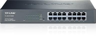 TP-Link TL-SG1016DE 16x Gigabit Easy Smart Switch