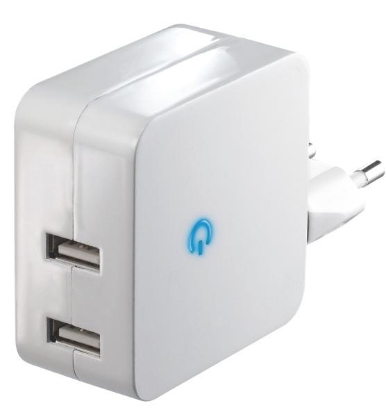 Emos napájecí zdroj USB duální 2x 2.1A, do sítě