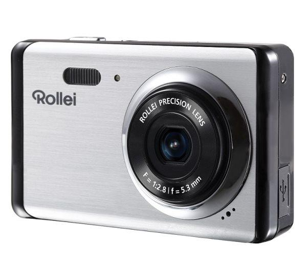 """Rollei Compactline 83/ 8 MPix/ 8x zoom/ 2,7"""" LCD/ HD video/ Stříbrný"""