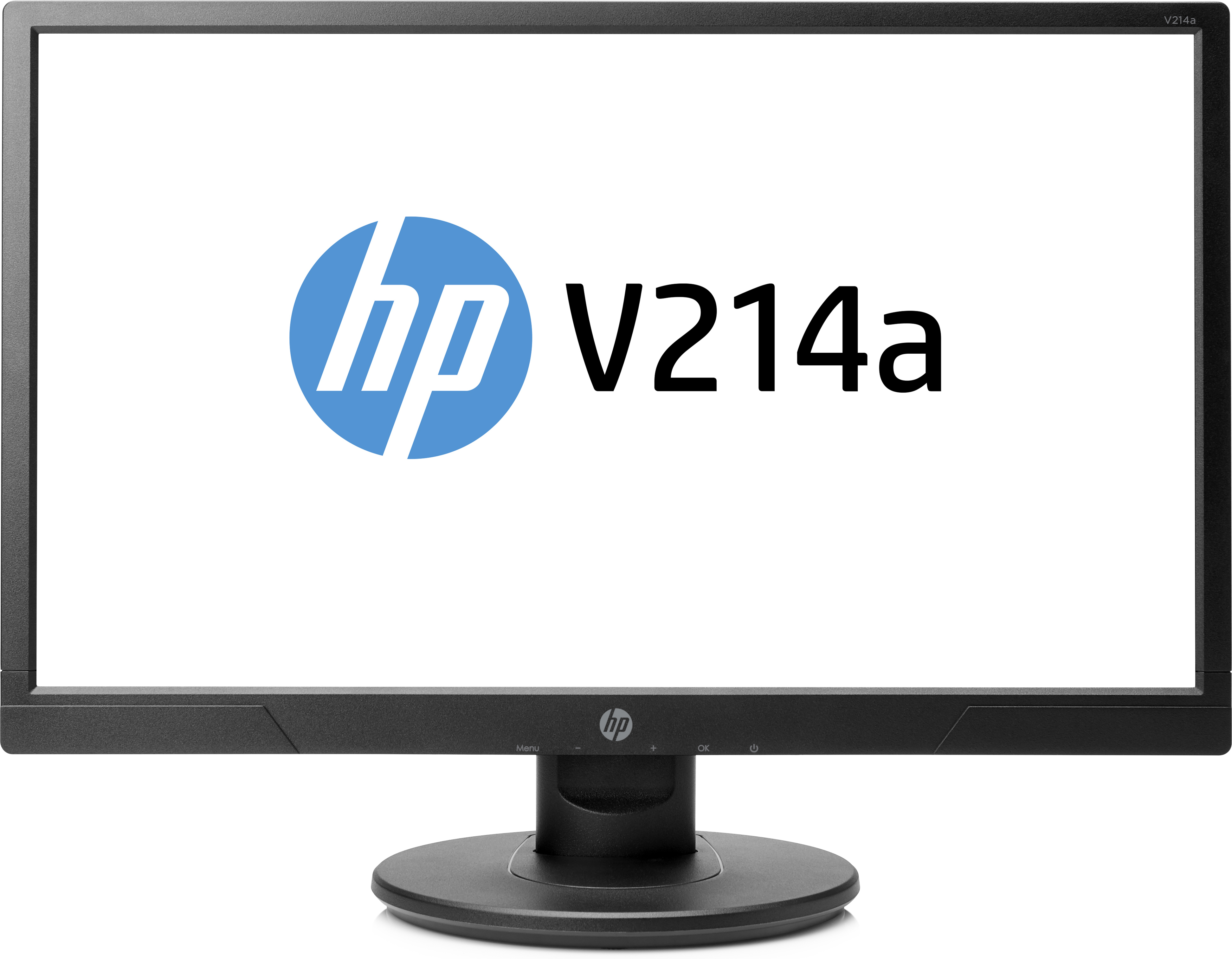HP V214a/ 20.7'' TN/ 1920x1080 / 600:1 / 5ms / 200cd/ VGA, HDMI/ audio 2x1W, 1/1/0