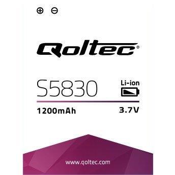 Qoltec Baterie pro Samsung Galaxy Ace S5830,1500mAh