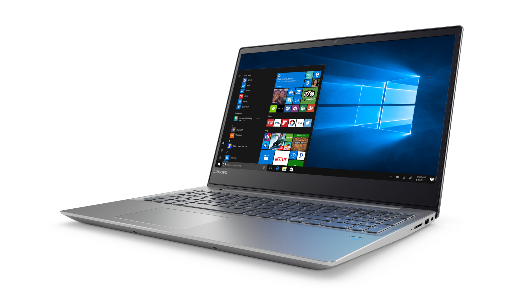 "Lenovo IdeaPad 720-15IKBR i7-8550U 4,00GHz/12GB/SSD 128GB+HDD 1TB/15,6"" FHD/IPS/AG/Radeon 4GB/FPR/WIN10 šedá"