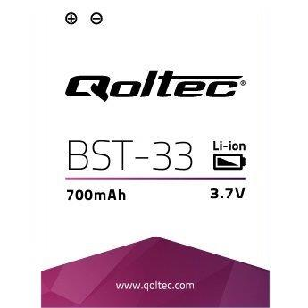 Qoltec Baterie pro Sony Ericsson BST-33, 1000mAh