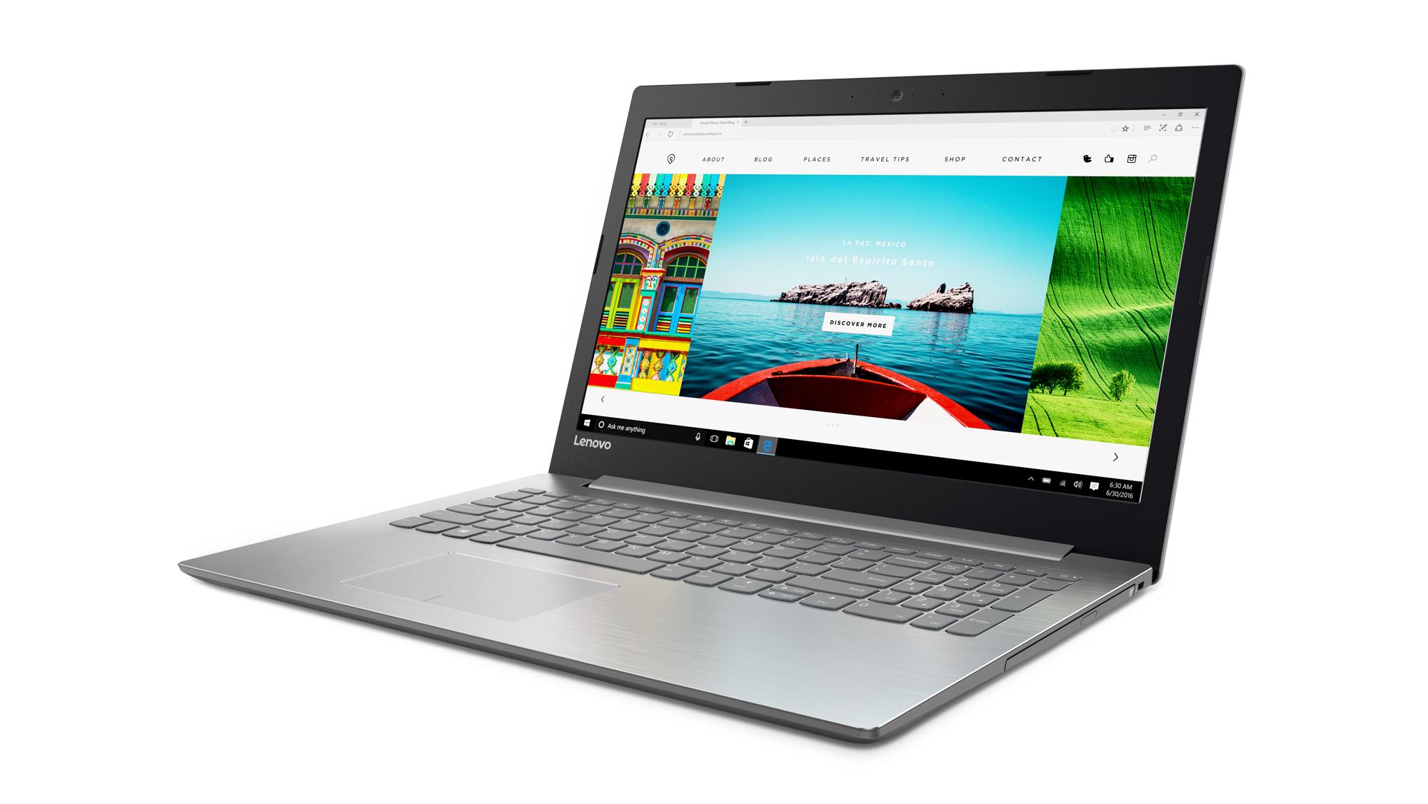 """Lenovo IdeaPad 320-15IKBRN i5-8250U 3,40GHz/4GB/1TB/15,6"""" FHD/AG/DVD-RW/WIN10 šedá 81BG000CCK"""