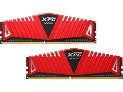 ADATA DDR4 16GB (Kit 2x 8GB) XPG Z1 DIMM 2400MHz CL16 červený chladič