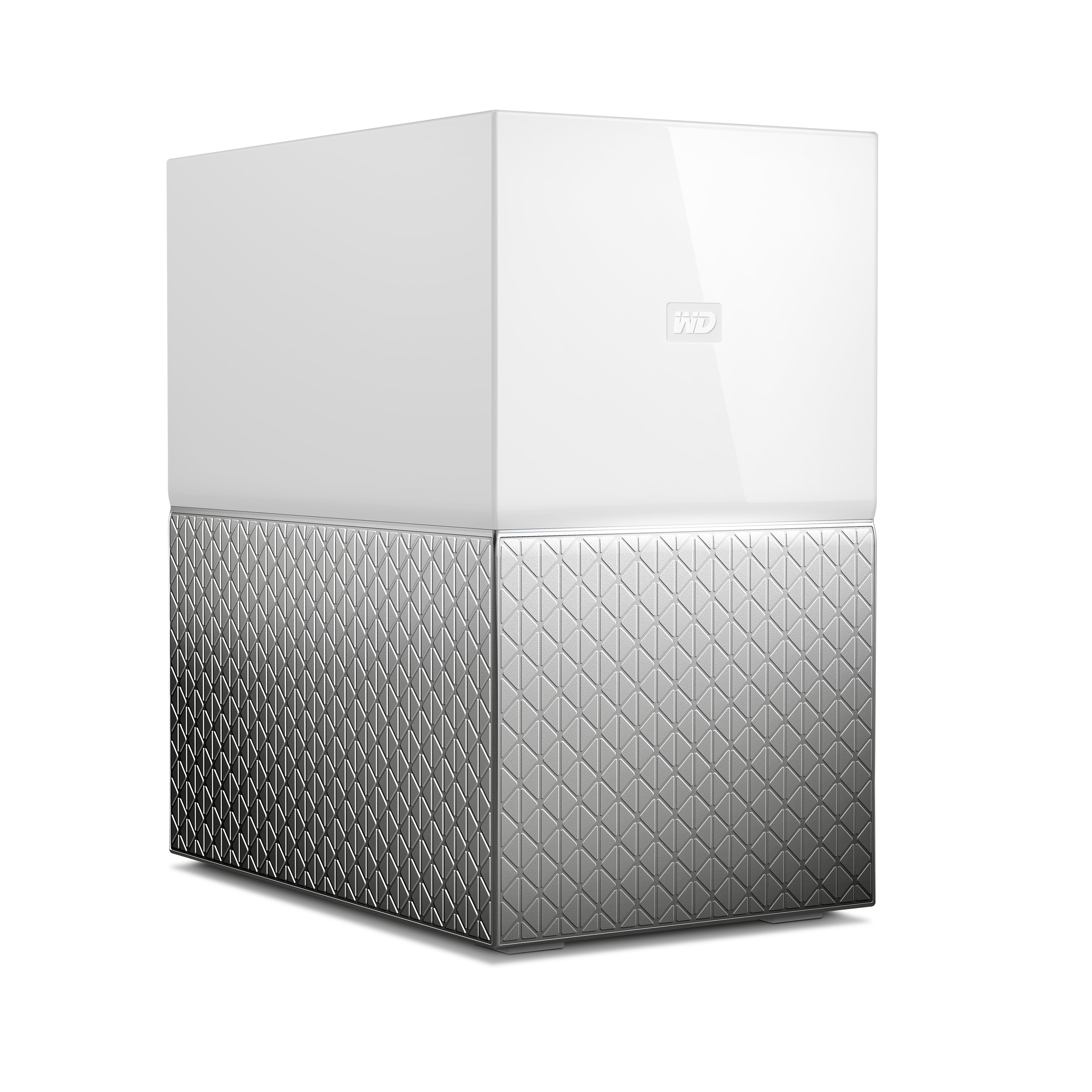 "WD My Cloud HOME DUO 8TB (2x4TB),Ext. 3.5"" RJ45 (GLAN), USB 3.0,NAS"