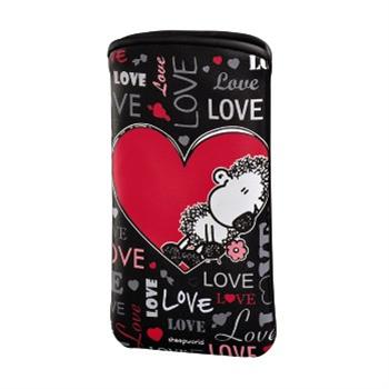 Sheepworld Love all, pouzdro na mobil, velikost L