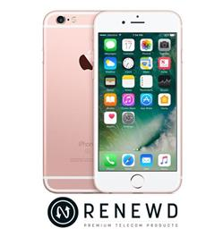 Renewd iPhone 6S Rosegold 64GB