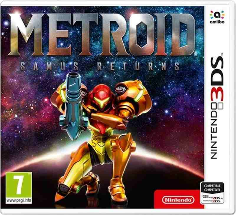 Nintendo 3DS hra Metroid: Samus Returns