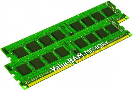 KINGSTON DDR3 8GB 1333MHz DDR3 Non-ECC CL9 DIMM SR x8 (Kit of 2)