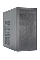 CHIEFTEC skříň Elox Series / Minitower, HT-01B, 350W, Black