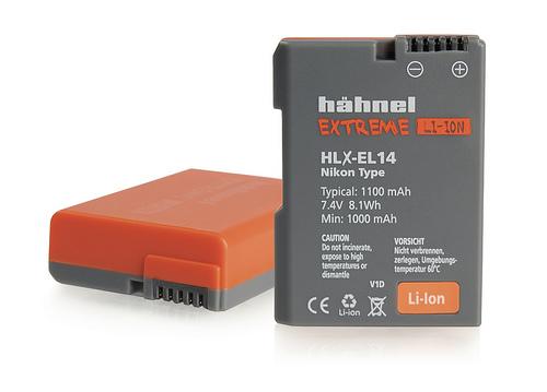 Hähnel EXTREME Li-Ion HLX-EL14 - Nikon EN-EL14/EL14a, 1100mAh 7.4V 8.1Wh