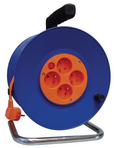 Emos prodlužovací buben - 4 zásuvky, 50m, 1.5mm