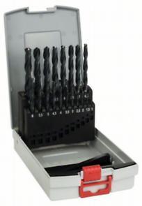 19dílná sada vrtáků do kovu ProBox HSS-R, DIN 338, BOSCH